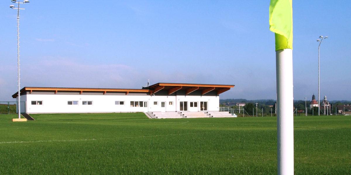Mgde Schwarzenau, Sportanlage, Neubau