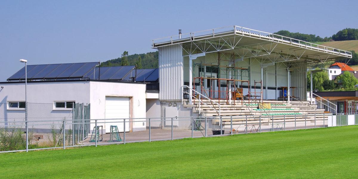 Mgde Sieghartskirchen, Sportanlage, Neubau
