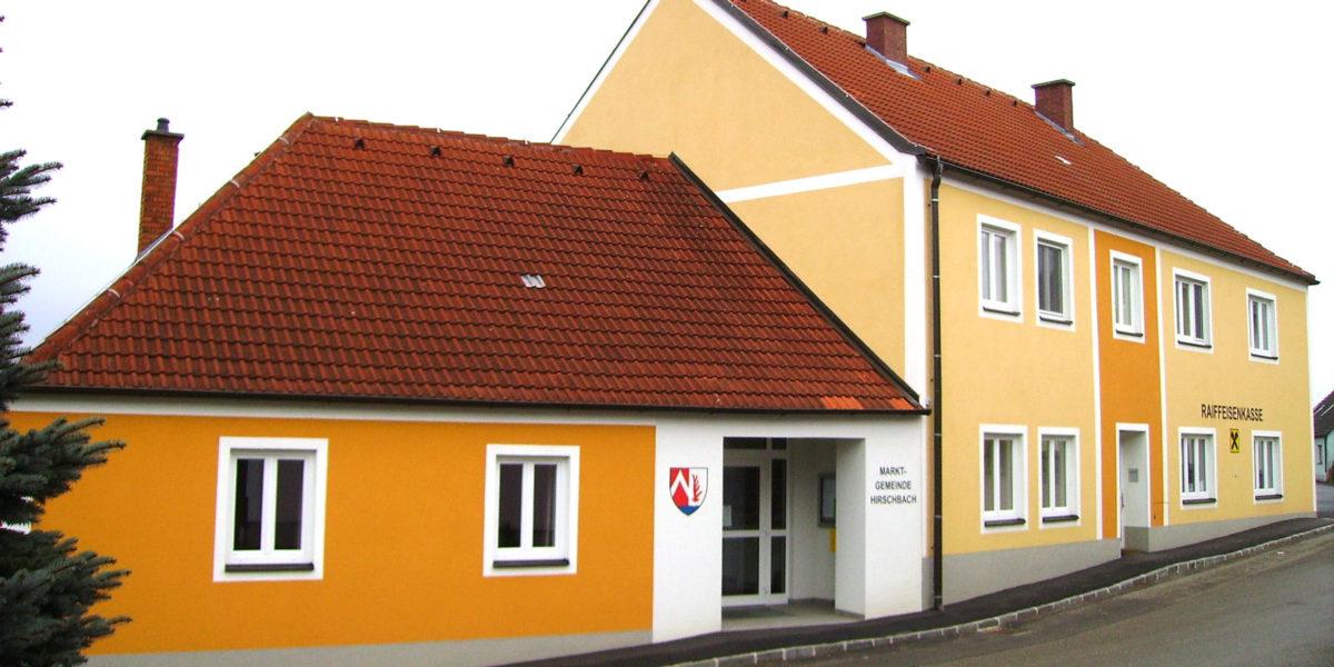 Mgde Hirschbach, Gemeindeamt, Umbau