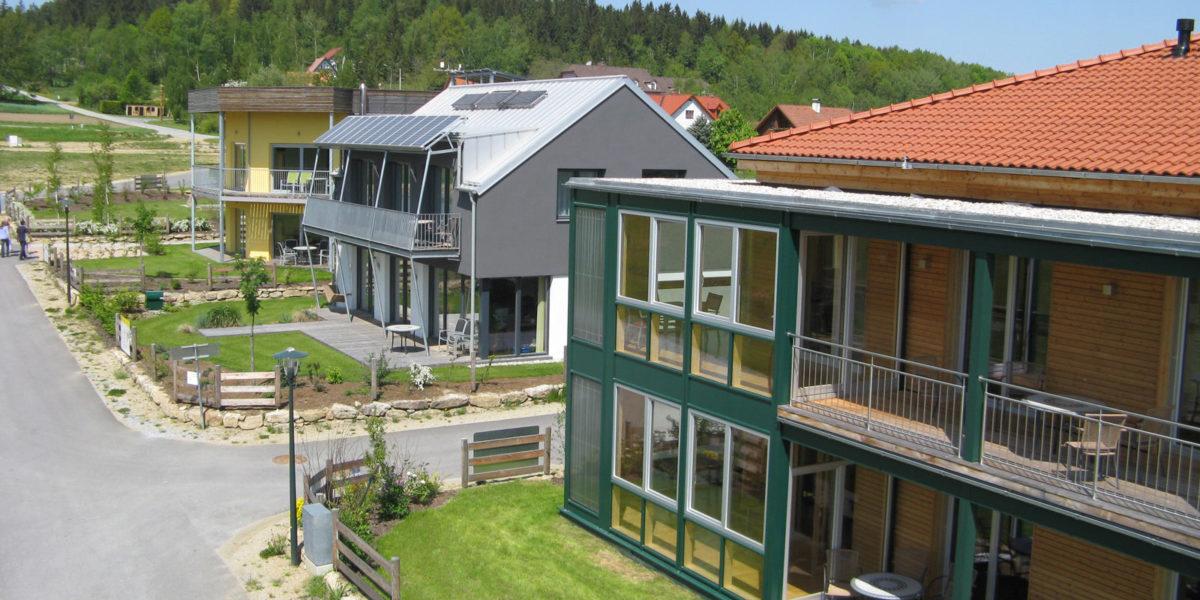 Sonnenplatz Großschönau, Passivhaus zum Probewohnen, Entwicklung, Betrieb