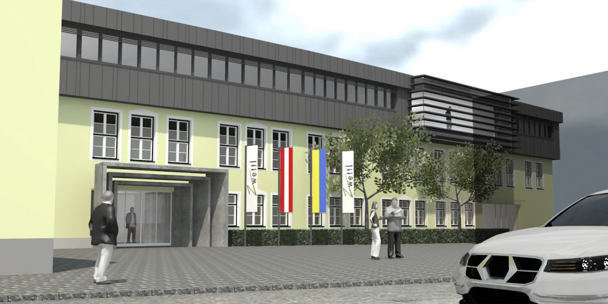 Stgde Zwettl, Stadtamt, Zubau