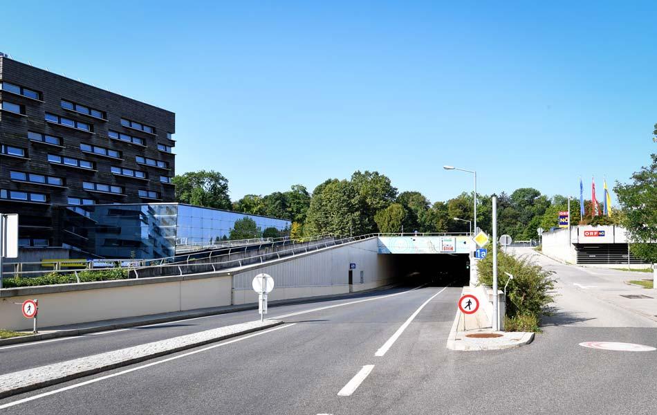 Land NÖ, Landhaustunnel, Sanierung