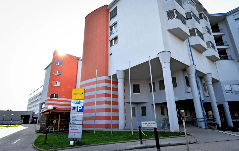 LK Amstetten, Zu-/Umbau